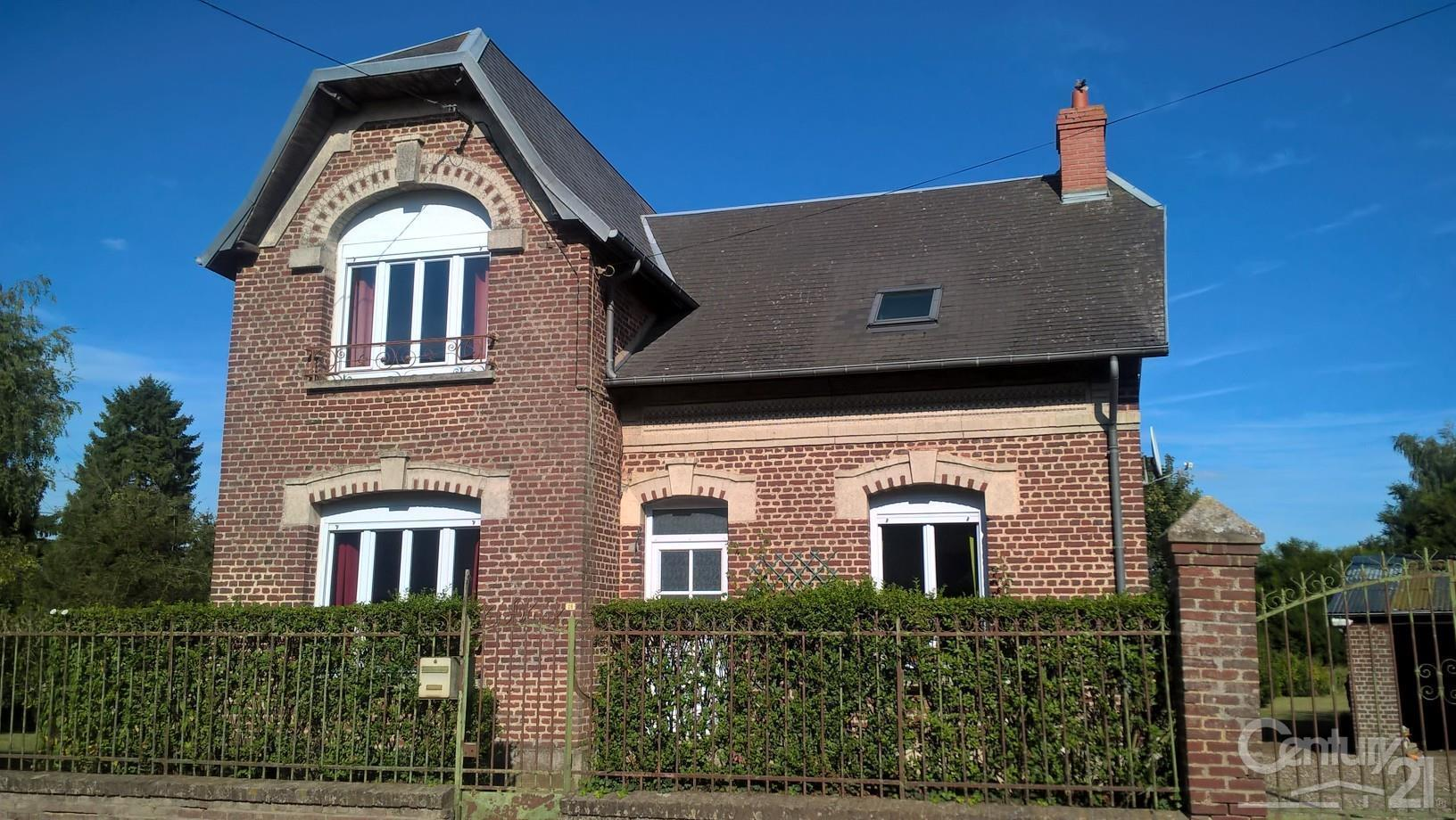 Perfect maison vendre pices m peronne picardie with maison for Achat maison picardie
